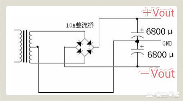 lm1875功放用的双电源电路.