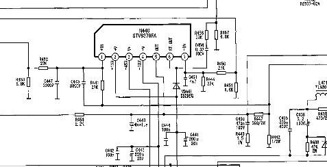康佳t21sa073场输出集成块型号是什么