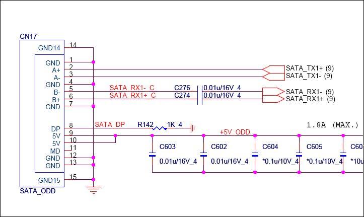 光驱m63015电路图