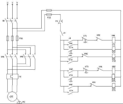 为大规模集成电路型成的时间继电器,它是利用阻容原理来实现延时动作.
