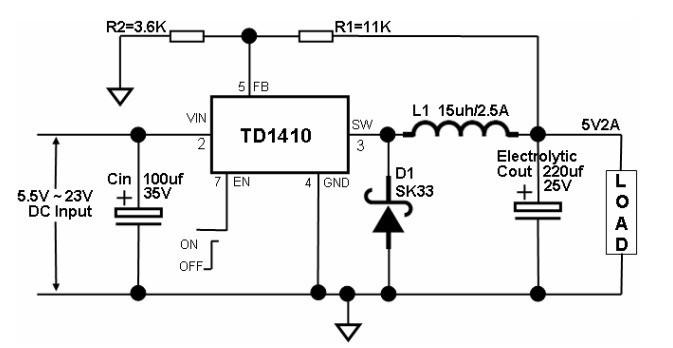 7809制作9v电源电路图