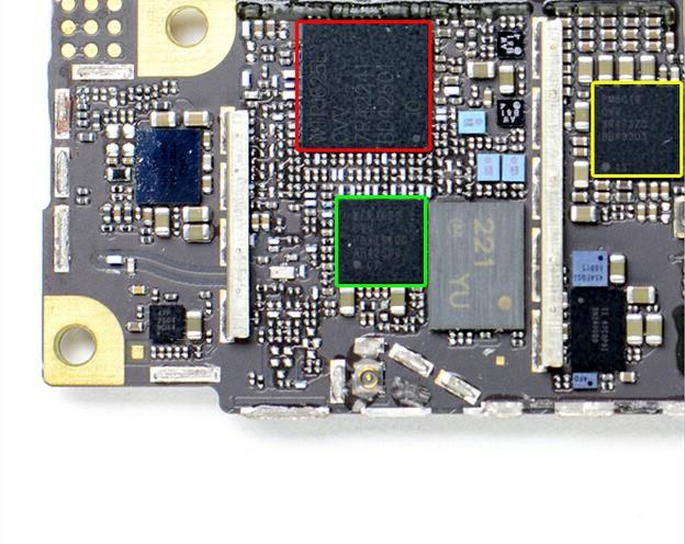 苹果7主板芯片坏了是可以维修的 有经验的维修师傅可以通过检测主板