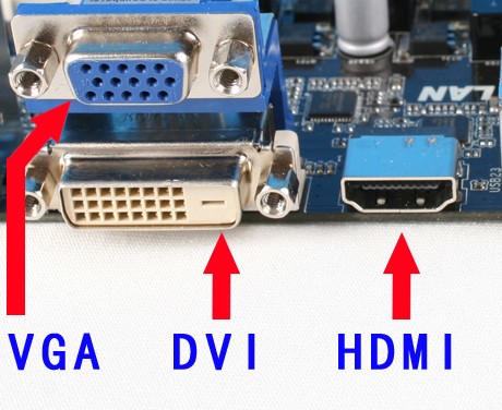 2,使用hdmi数据线连接电脑与电视.