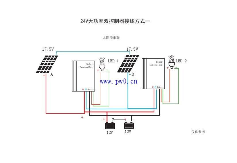 太阳能路灯控制器接线有哪几种方式