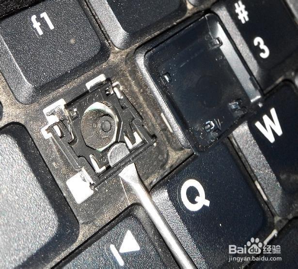 笔记本键盘进水后按键错乱怎么处理