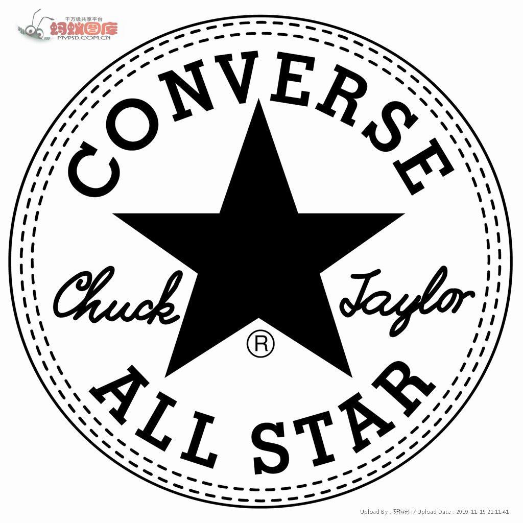 匡威的标志为圆圈内含五角星,用字符打出来较为形象的是:✪.