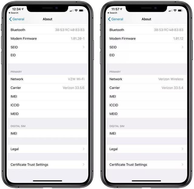 iPhone XS的信号问题有多严重?