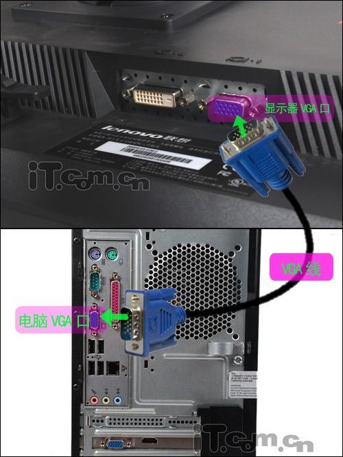 电脑的VGA路线是什么线?在电脑哪里的?