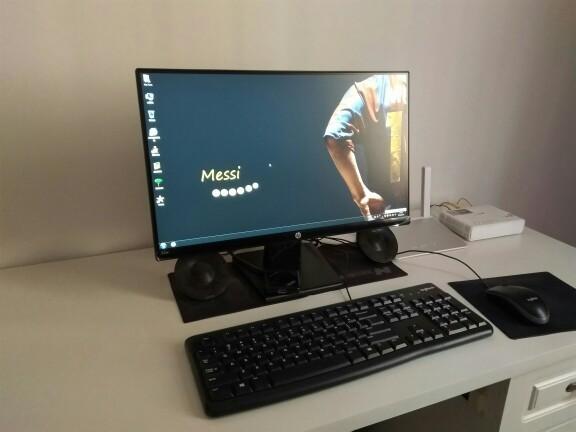 新买的惠普HP22W显示器,亮屏后总会出现高音频的噪音(滋滋...
