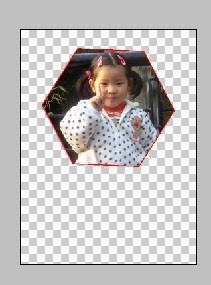 photoshop如何制作六边形的图片 就是把一张照片怎么截成六边形
