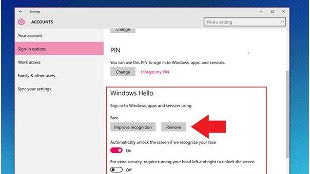 "win10提示""关闭windows hello,然后尝试。""是为什么?"