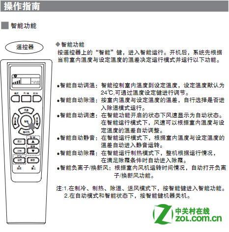 海尔柜机空调说明书_海尔空调说明书-海尔-ZOL问答