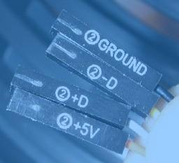 家悦前置USB线11针肿么接9针主板