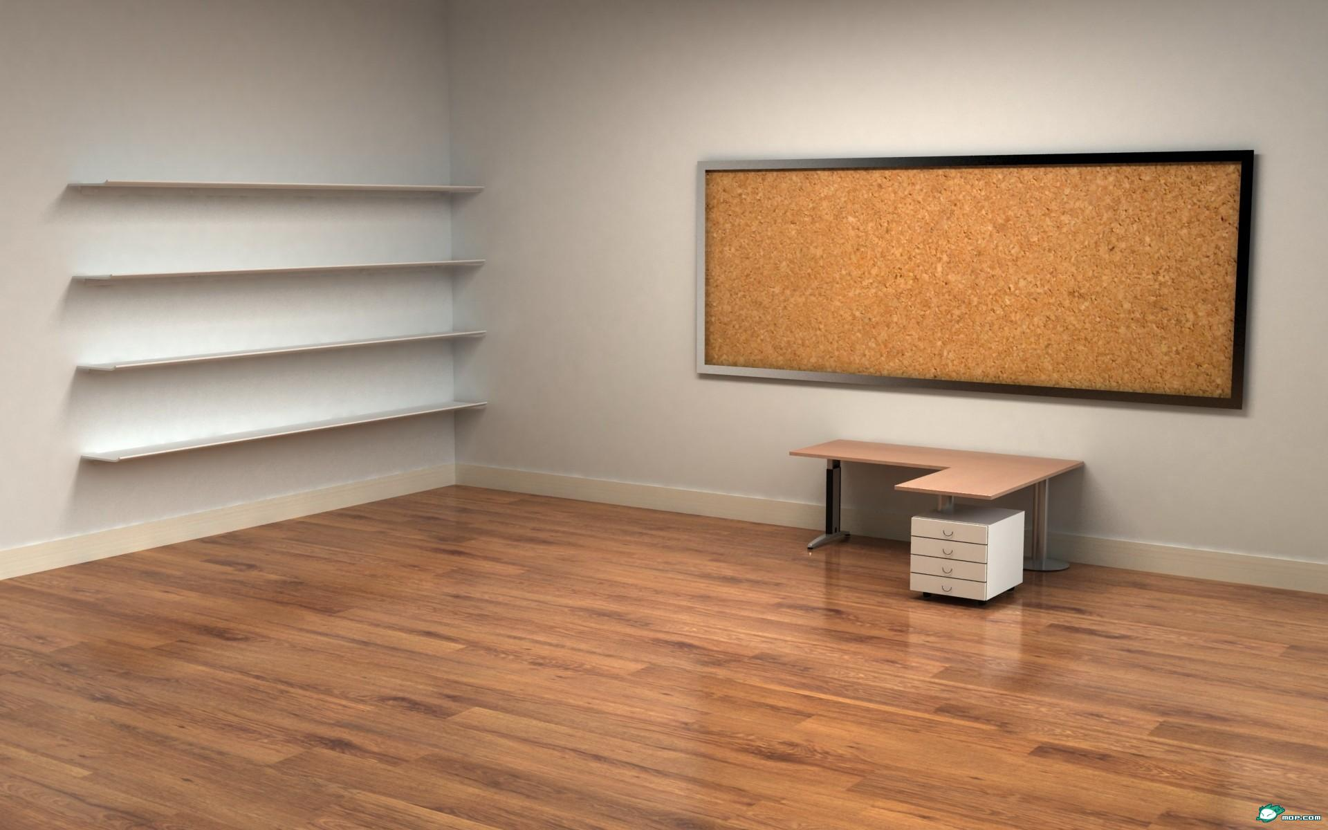 求一张电脑界面的壁纸 大概是一个房间 有个书架 有张桌子 可以把电脑图标放上面的!!!