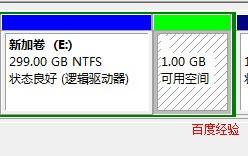 给刚买的笔记本电脑硬盘分区,win7系统操作步骤