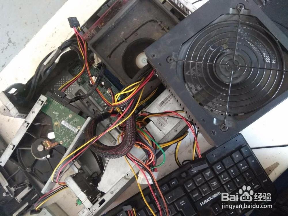 电脑开机没反应检查思路