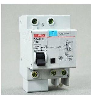 漏电保护器DZ47LE-32C32怎么接线,