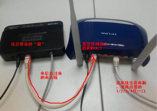 为何我家里宽带连上了,无线网就不能用了,无线网能用,宽带又链接不上了