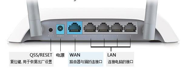 网线插在路由器哪里?
