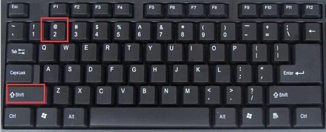 笔记本键盘上面一个按键有两个符号怎么切换 ?