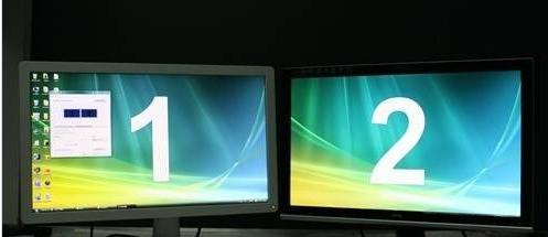 怎么让电脑显示成双屏,显示的东西还不一样