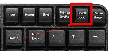 怎么办锁键盘的上下左右键?