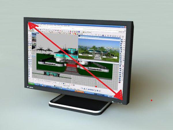 怎样知道自己的电脑显示屏是多少寸的
