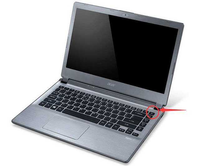 笔记本电脑del键在哪里
