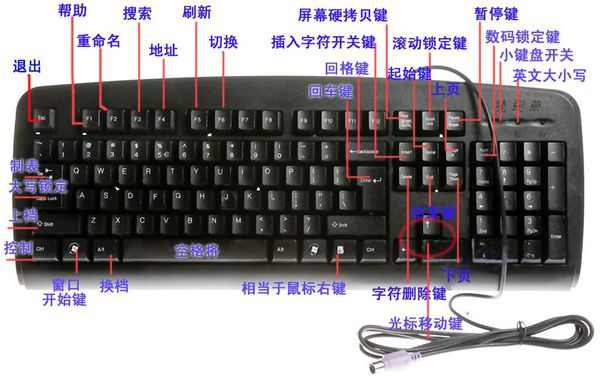 电脑退格键是哪个