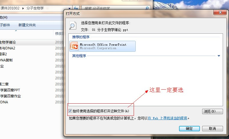 为何打开任何文件都是打开PPT 现在连添加或删除程序都不能打开 反