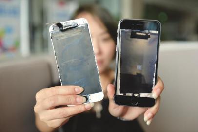 手机屏幕坏了,自己想换个屏幕。自己能换好吗?