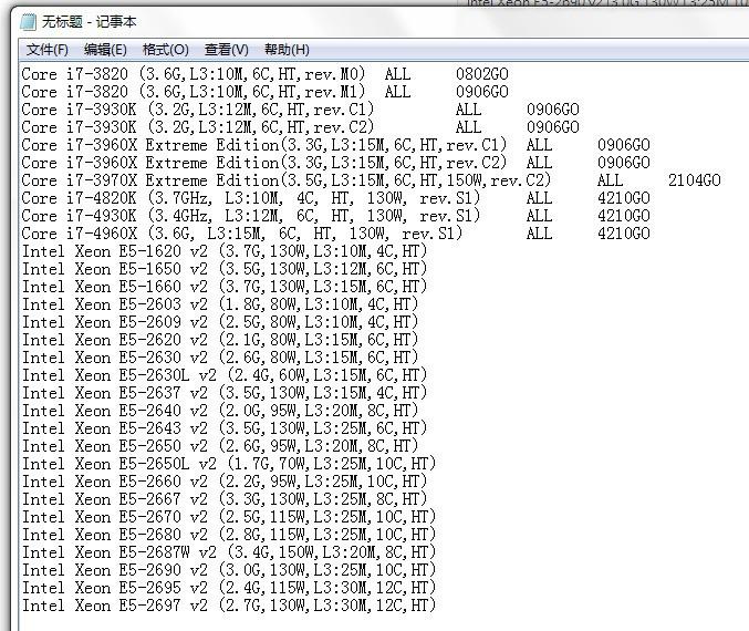 Asus x79主板配什么cpu?