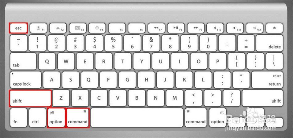 苹果电脑macbook怎样强制关闭软件