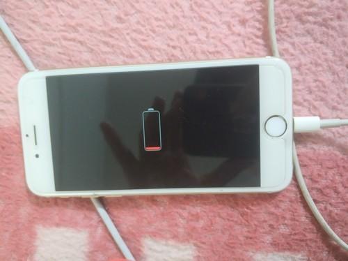 iphone6s手机没电后一直开不了机