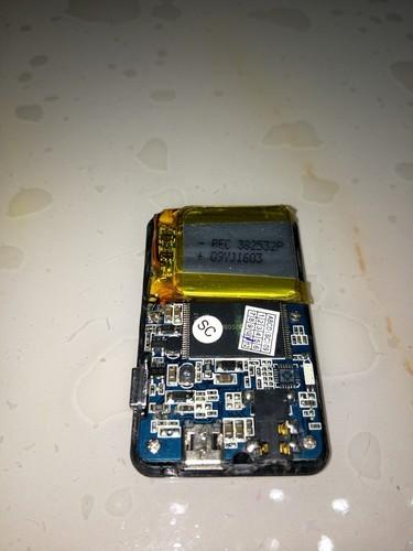 台电TL-X21+型号mp3开不开机处于黑屏状态。我排除了一下故障...