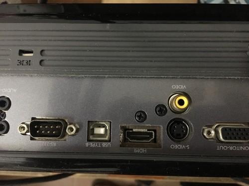 可以连接高清网络电视机顶盒吗?但投影仪有这个接口,我怎么...