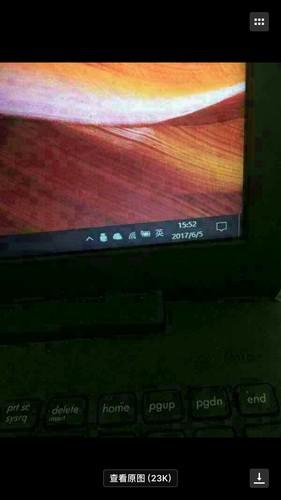 华硕电脑右下角像信息一样的那个框框是什么端口?怎么让它显...