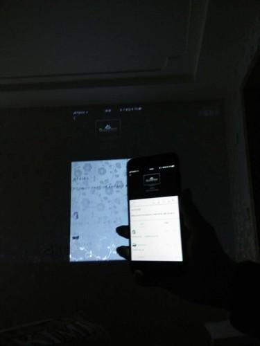 为什么我的苹果7Puls使用屏幕镜像时候老是出现这样的图片