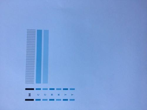 佳能mp280打印机,打印不出彩色是打印头堵塞了吗?但是用抽...