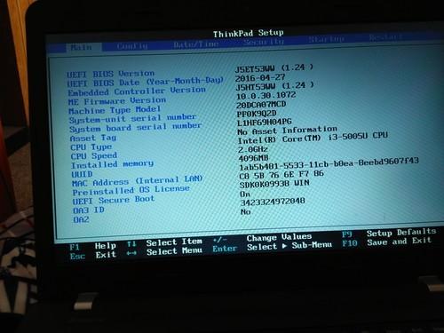 请问一下怎么回事,联想笔记本E450