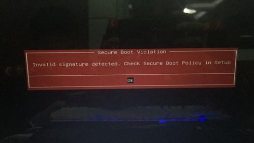 戴尔笔记本 W8 系统重装W7 系统 出现安全启动这个问题 是什...