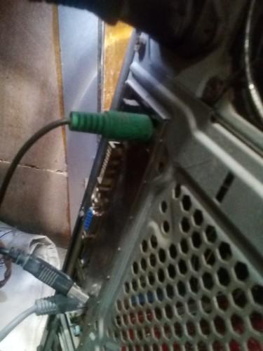 电脑装机不会,就是主机后面那个插线的。 长城电源经典系列...