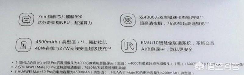 华为mate 30 pro有哪些黑科技?