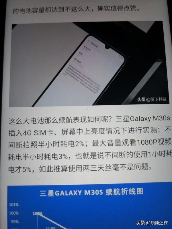 三星Galaxy M30s这款手机如何?