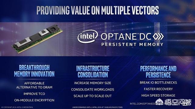 英特尔新推出的Optane DC非易失性内存,拥有怎样的特点?