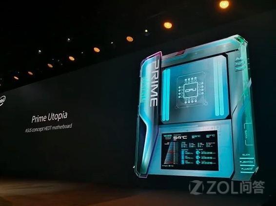 华硕全新7寸OLED触摸彩屏主板是什么体验?