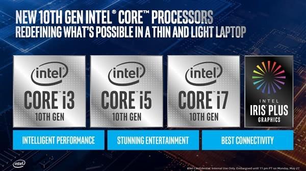 Intel的十代酷睿终于成了吗?10nm有多大提升?