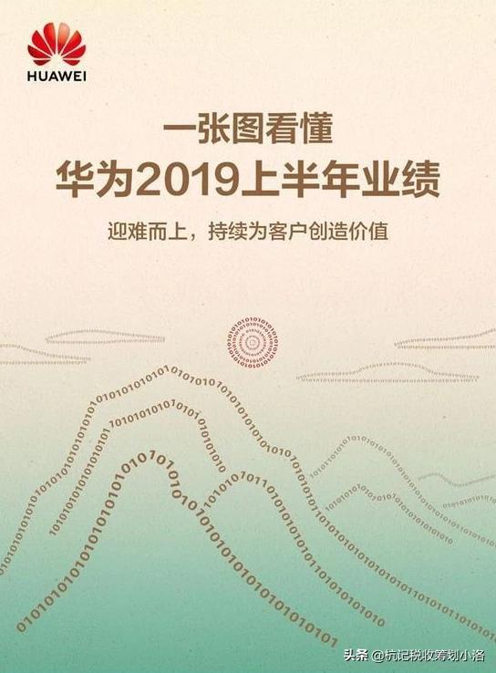 如何看待华为2019年上半年业绩报告?有哪些值得关注的信息?