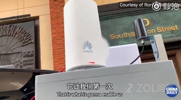 如何看待英国电视台主持人大赞华为5G设备?