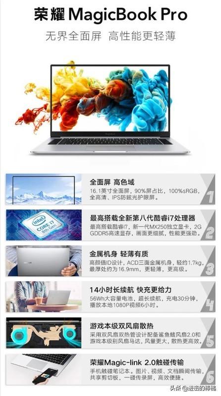 华为matebook14和荣耀MagicBook Pro笔记本电脑选哪个好?